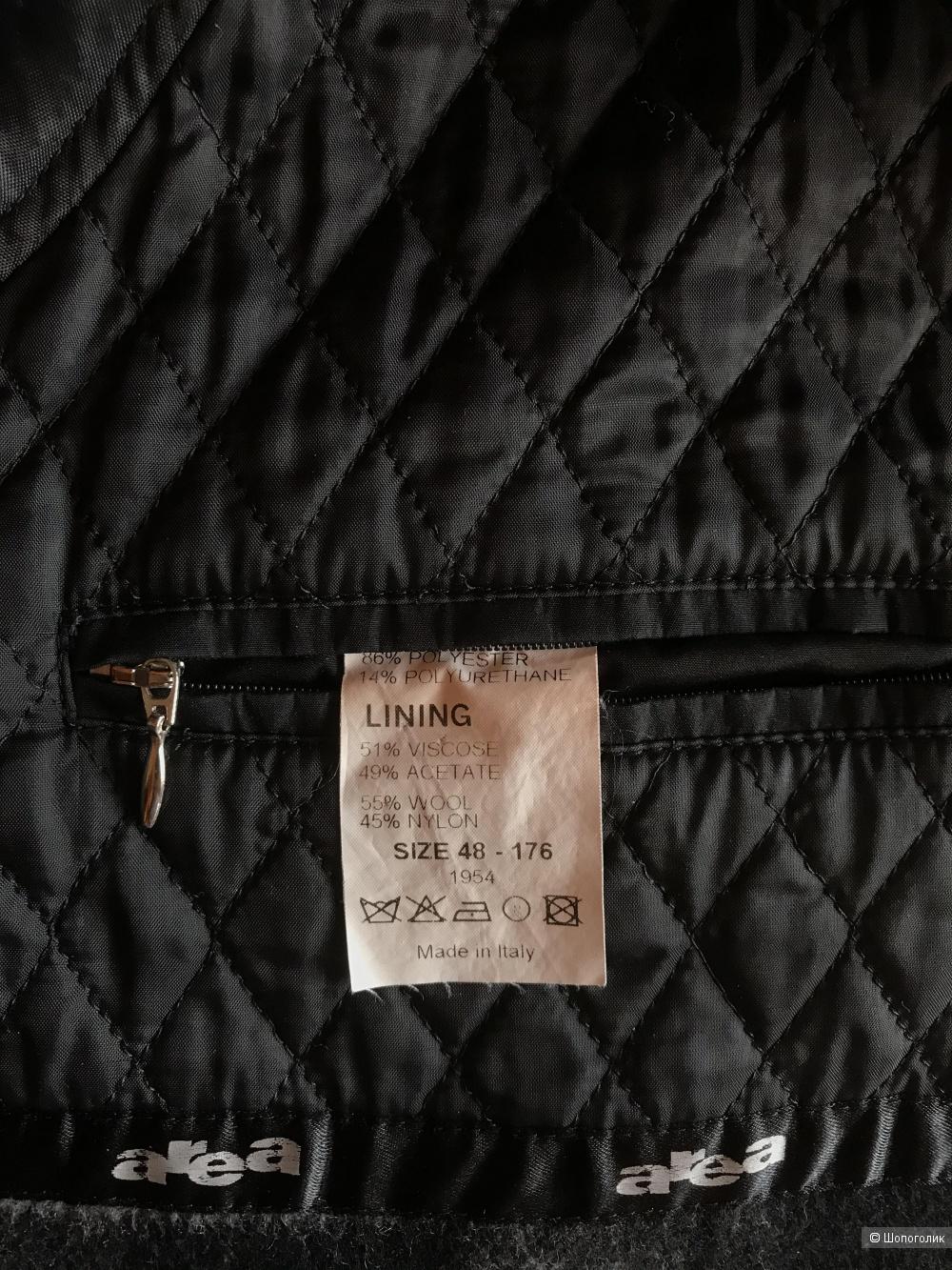 Мужской плащ-пальто Area ( Италия) размер 50