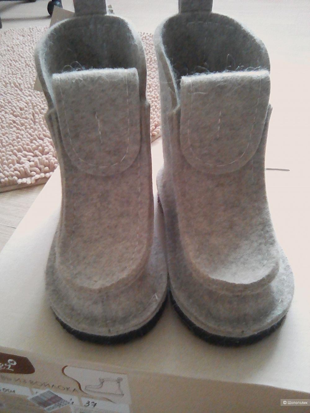 KIEZ / Валенки/войлочная обувь 37 размера