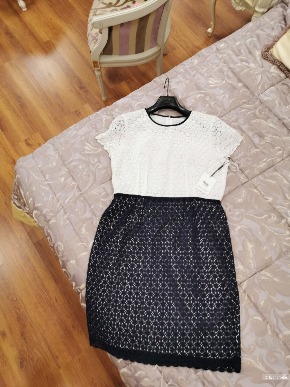 Платье Calvin Klein маркировка 12