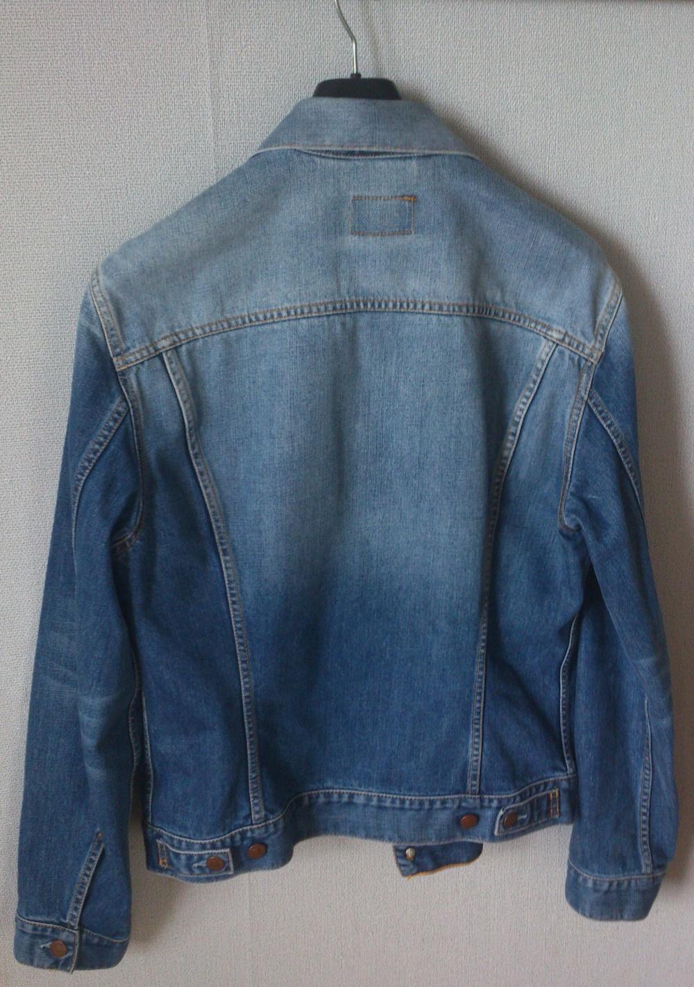 Джинсовая куртка Levi's XL