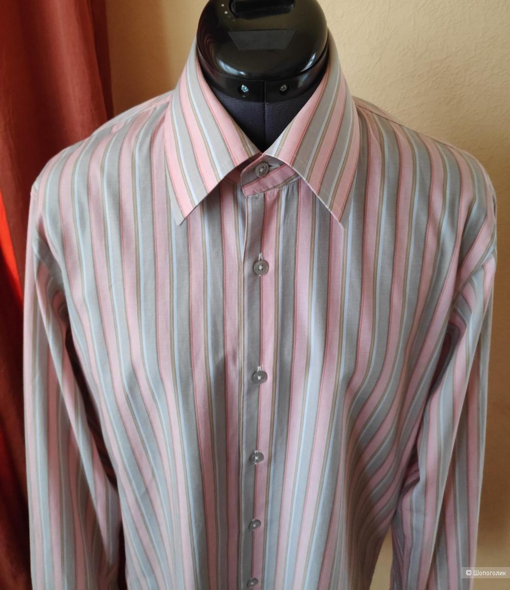 Рубашка HUGO BOSS. Маркировка 40(15 3/4).