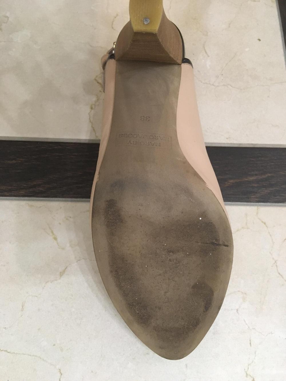 Туфли кожаные, Марк Якобс, размер 38