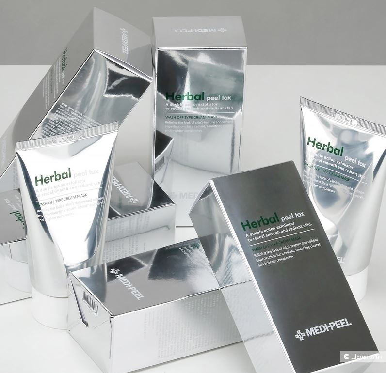 Очищающая пилинг-маска с эффектом детокса MEDI-PEEL Herbal Peel Tox Wash Off Type Cream Mask