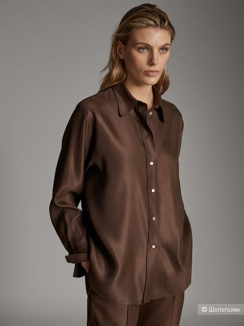 Рубашка Massimo Dutti L на 46-48