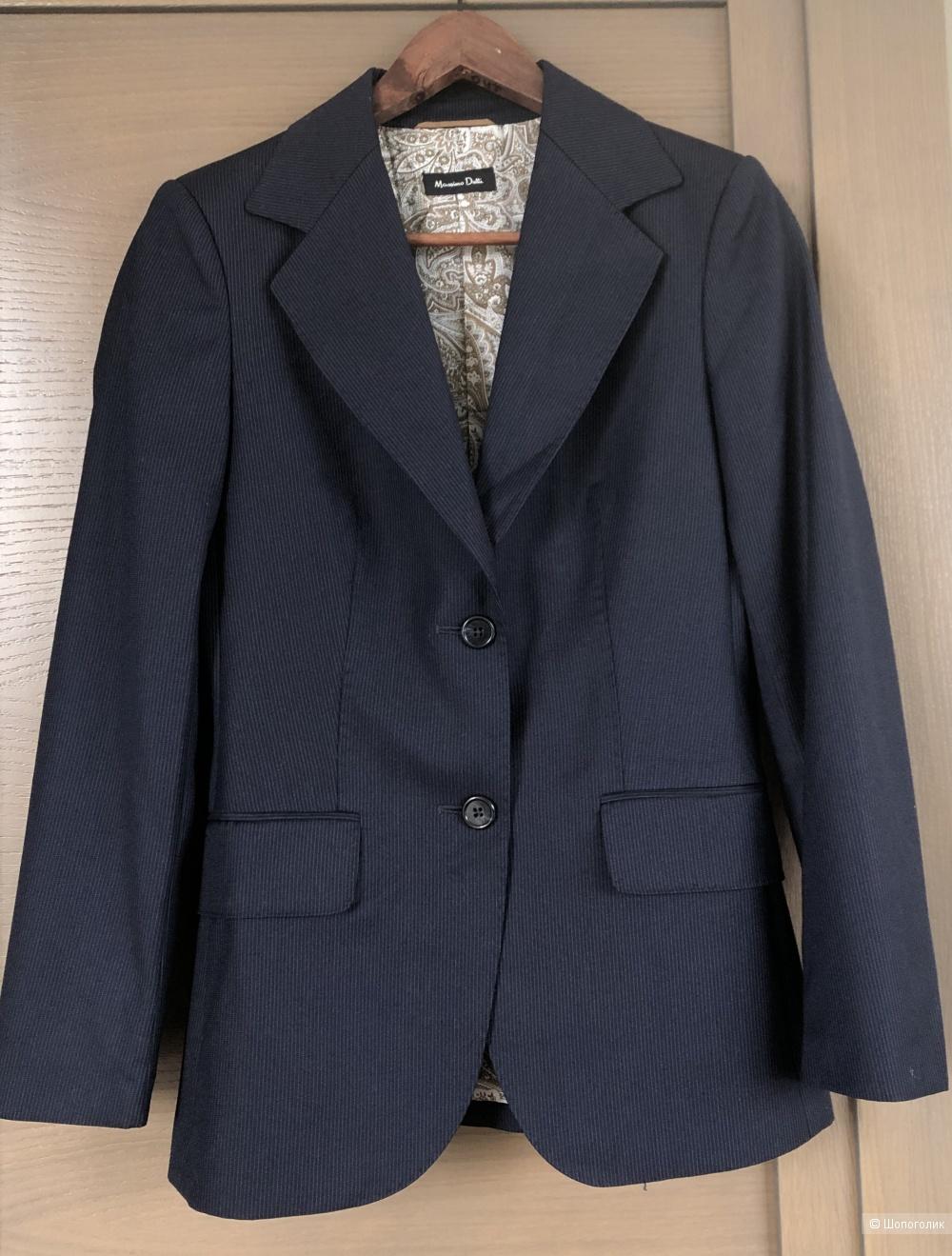 Пиджак Massimo Dutti, маркировка 38