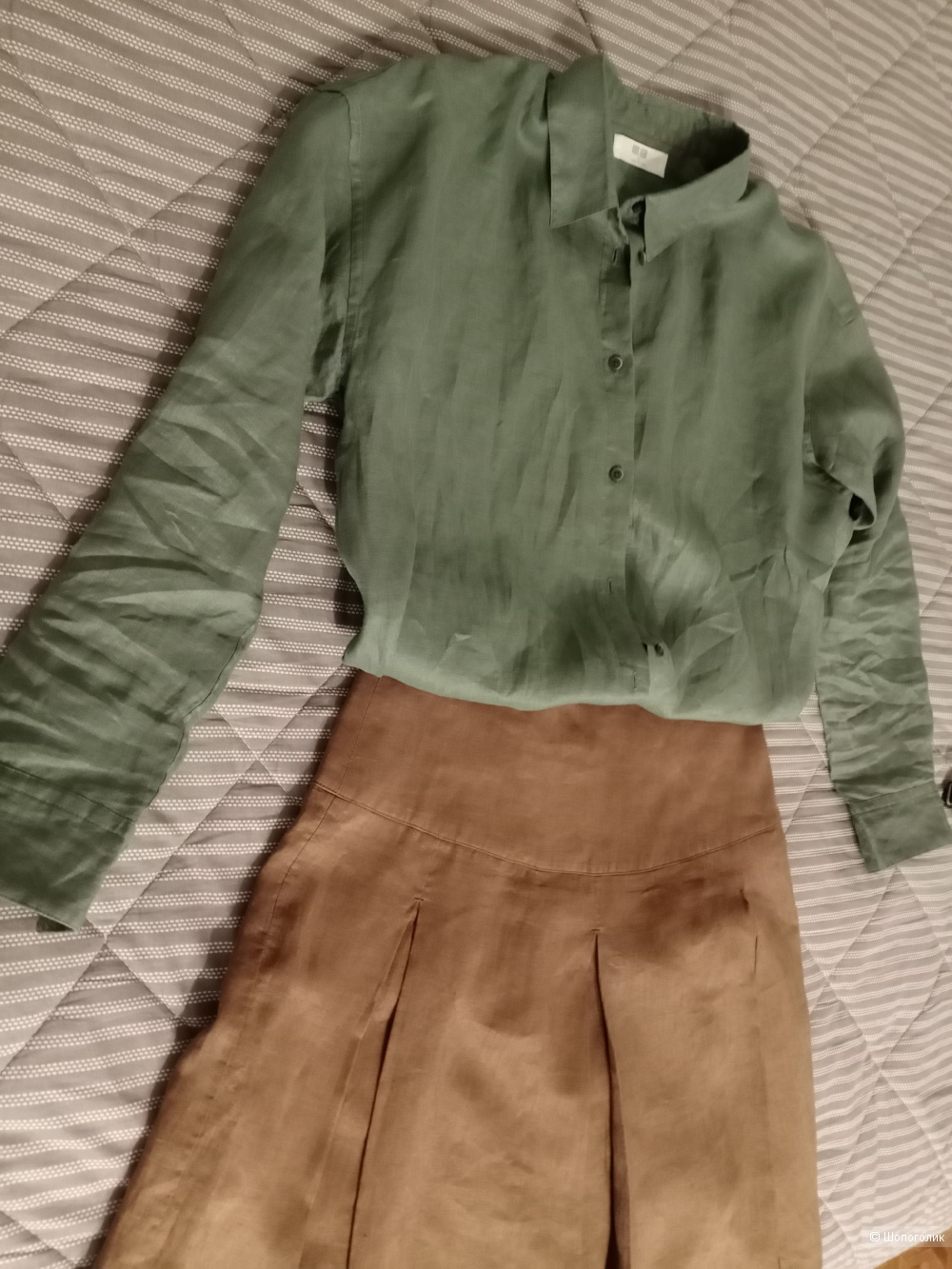 Рубашка Юникло, размер L