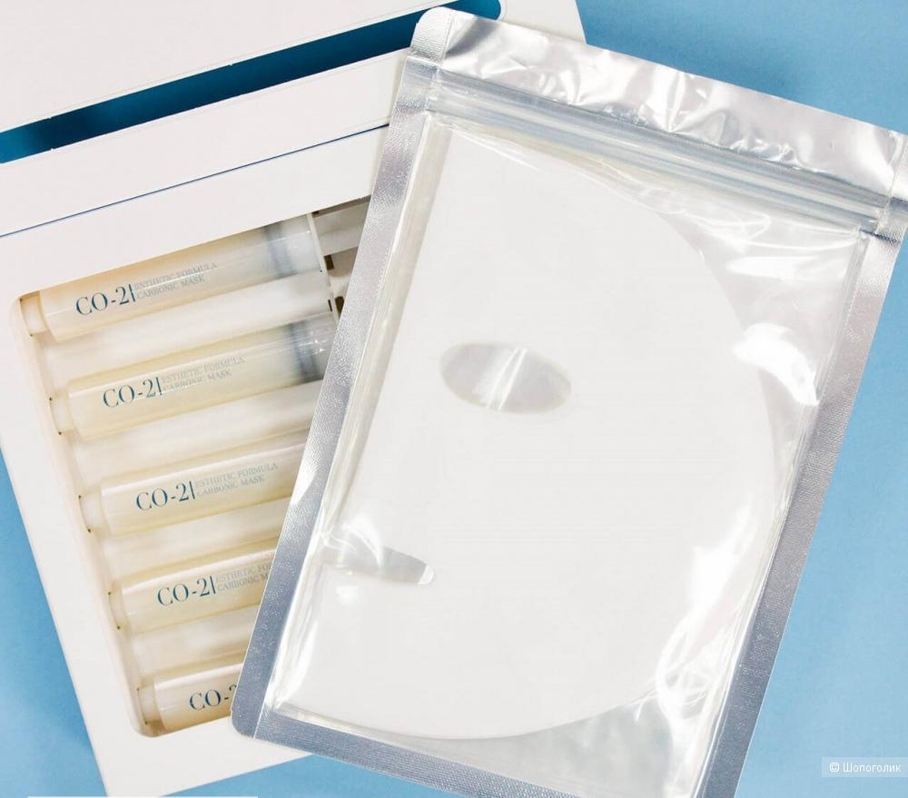 Набор для 5 процедур карбокситерапии Esthetic House CO2 Esthetic Formula Carbonic Mask