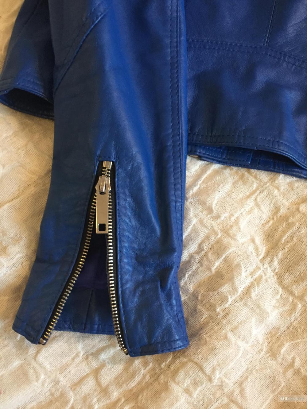 Кожаная куртка Lost Ink, размер М