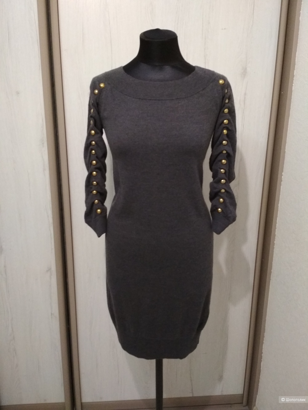 Шерстяное платье LIU JO. р. 44-46