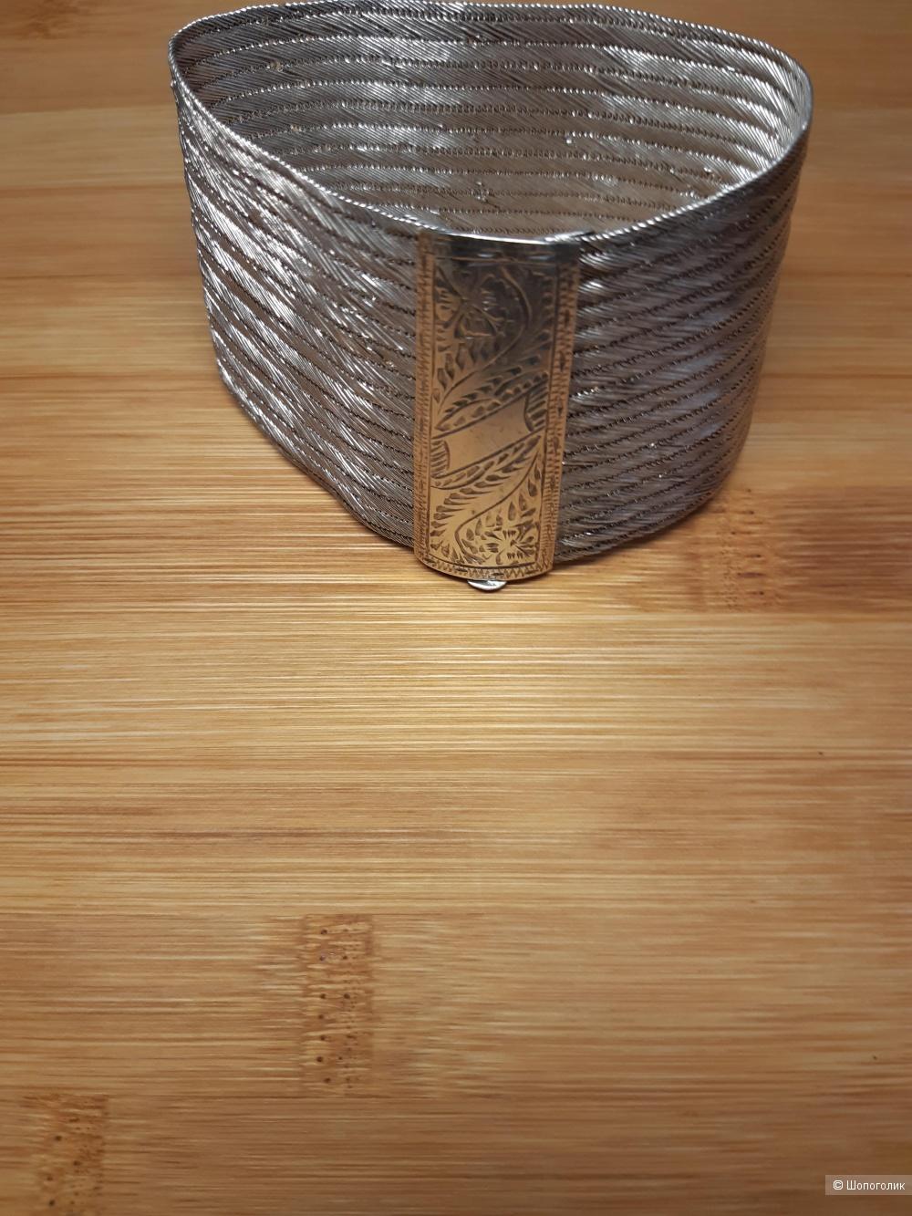 Браслет серебро 900 проба старинный