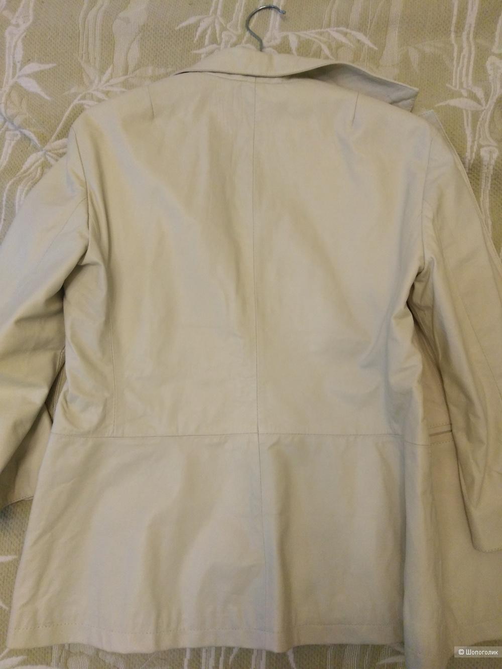 Кожаный пиджак vintage de luxе 46росс