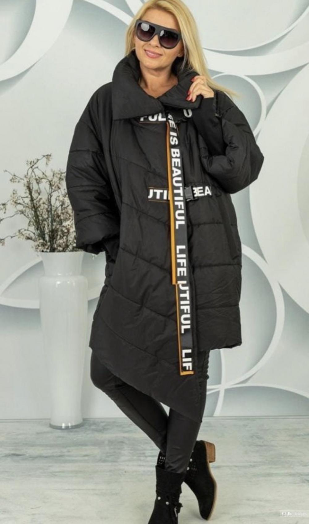 Пуховик пальто MY PEPPER, 44-56