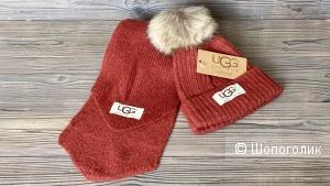 Шапка и шарф UGG one size