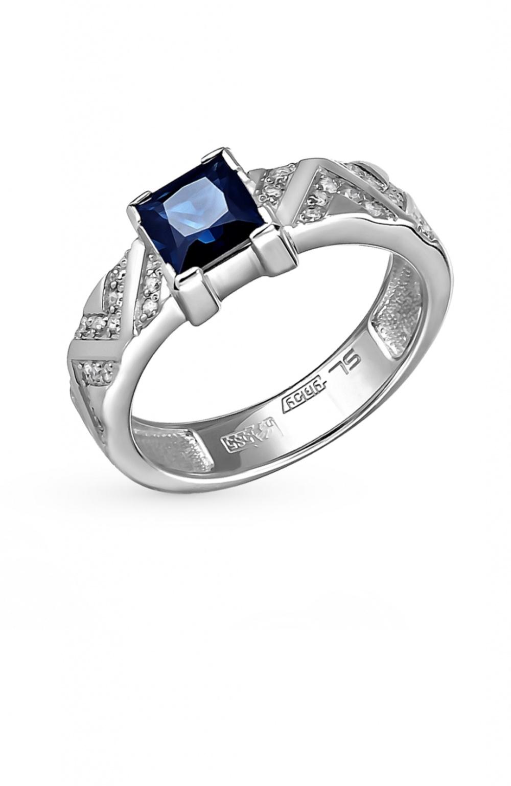 Золотое кольцо Sunlight, размер 16.5