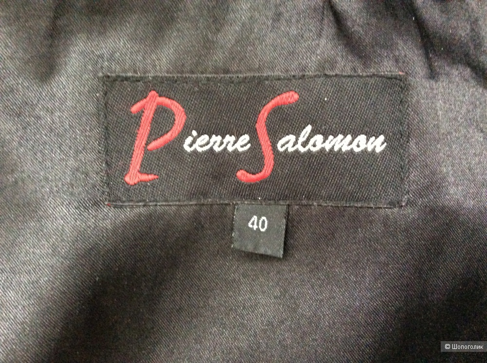 Пальто Pierre Salomon р.40EUR (на 46-48-50)