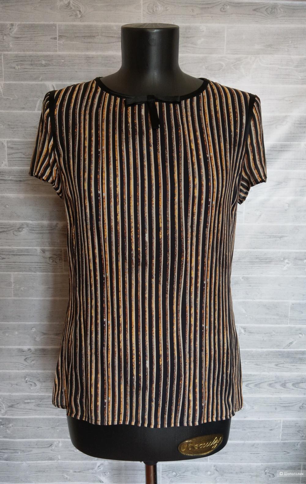 KORPO collezioni блуза шёлк р.44.