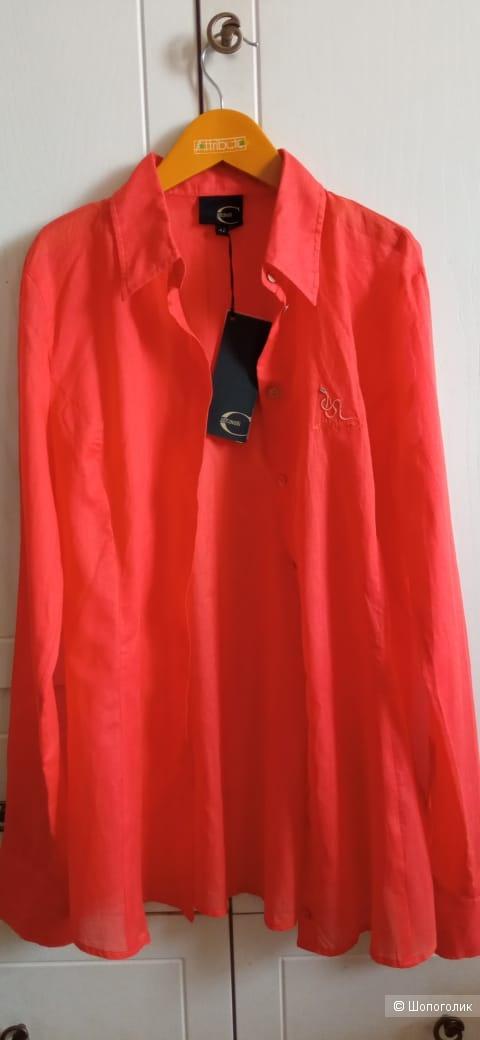 Рубашка Just Cavalli ,  42 итальянский , на  S-M
