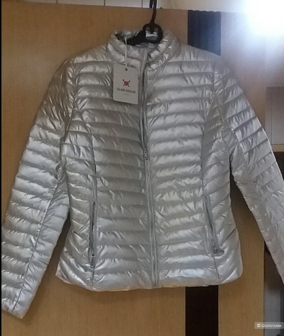 Куртка Glam Amour silver размер 46