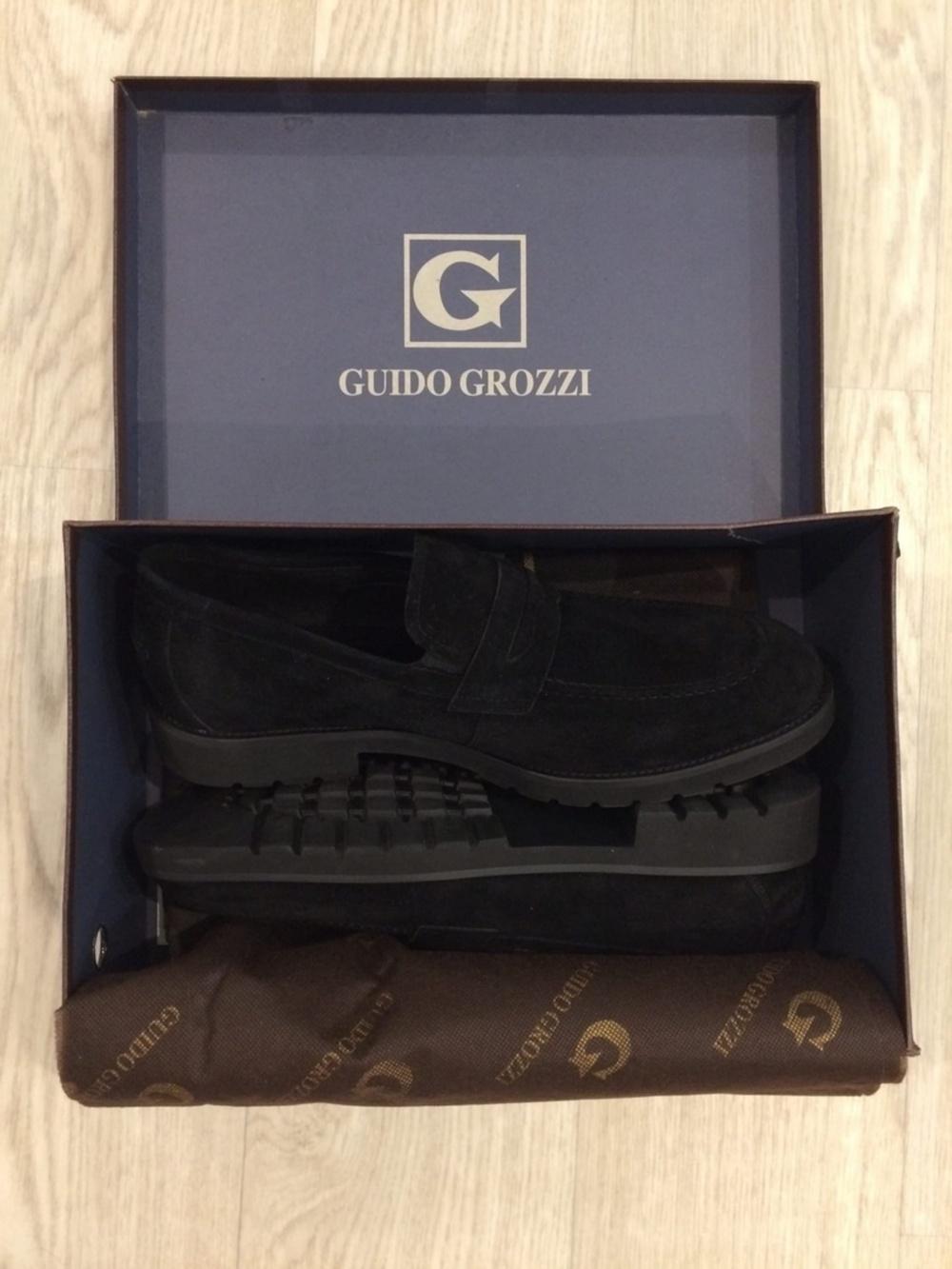 Мужские лоферы, Guido Grozzi, 44 размер
