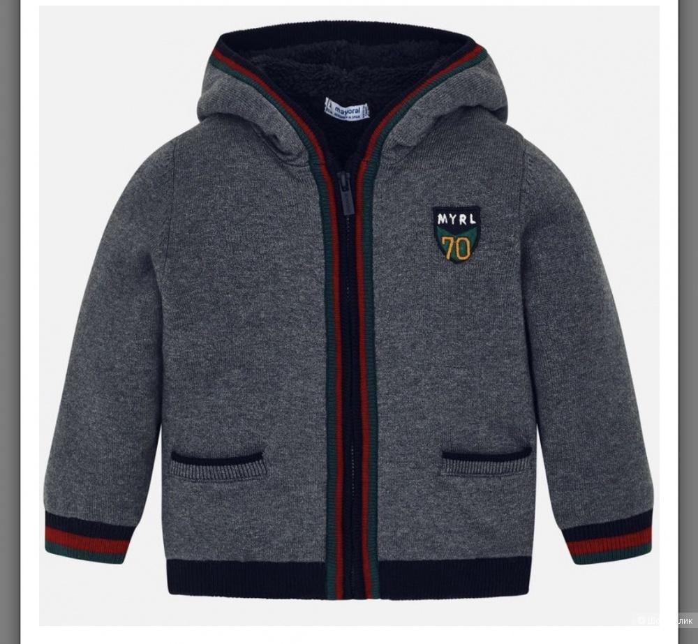 Кофта-курточка Mayoral на 4 года