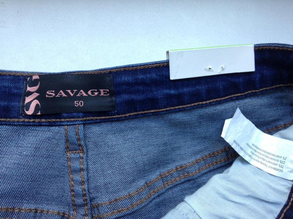 """Джинсы """" Savage """", 48-50 размер"""