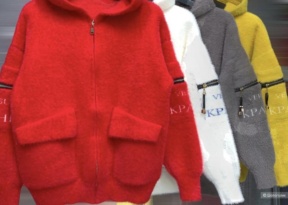 Куртка кардиган Alpaka, oversize