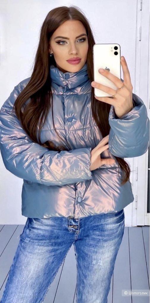 Куртка пуховик осень PEARL, 42-48