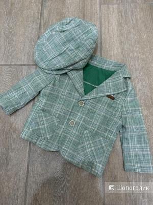 Пиджак и кепи GB baby, 3-6 месяцев