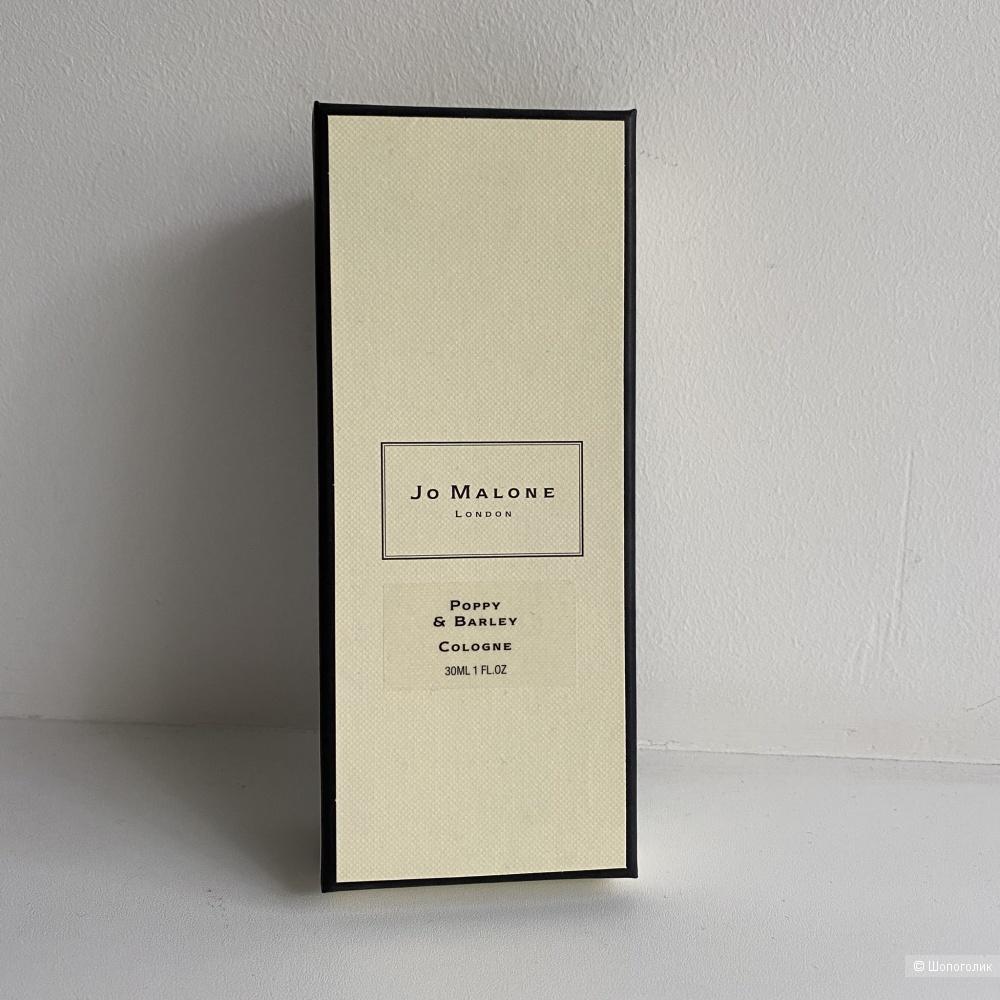 Одеколон Jo Malone Poppy and Barley, 30 ml