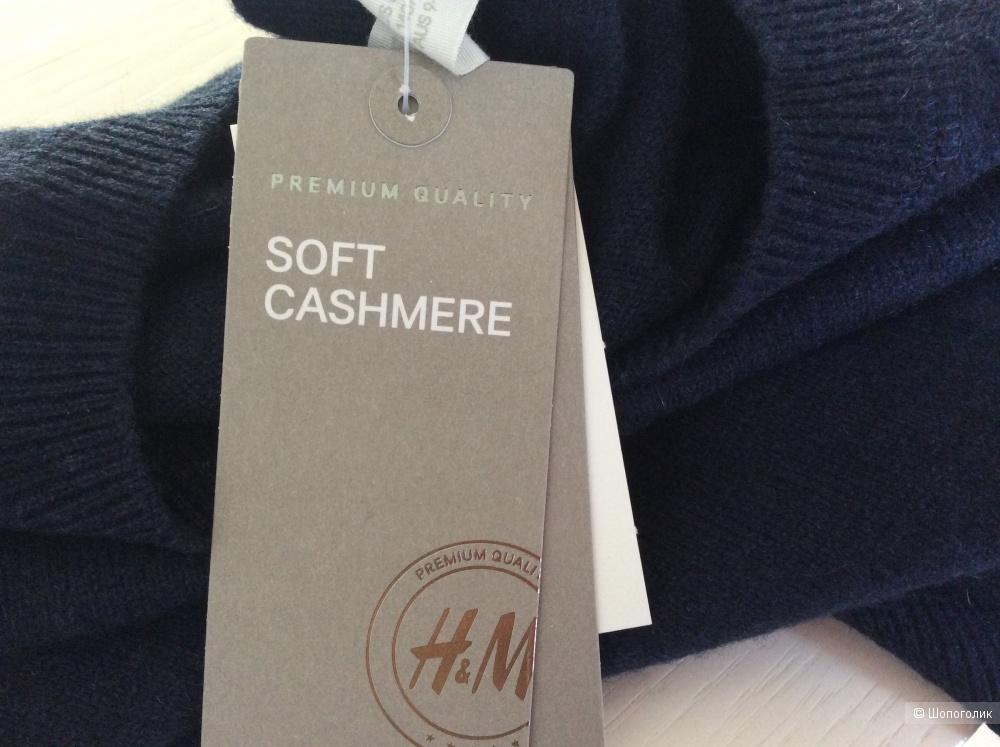 Кашемировый джемпер H&M Premium Quality р.134-140 (8-10 лет)