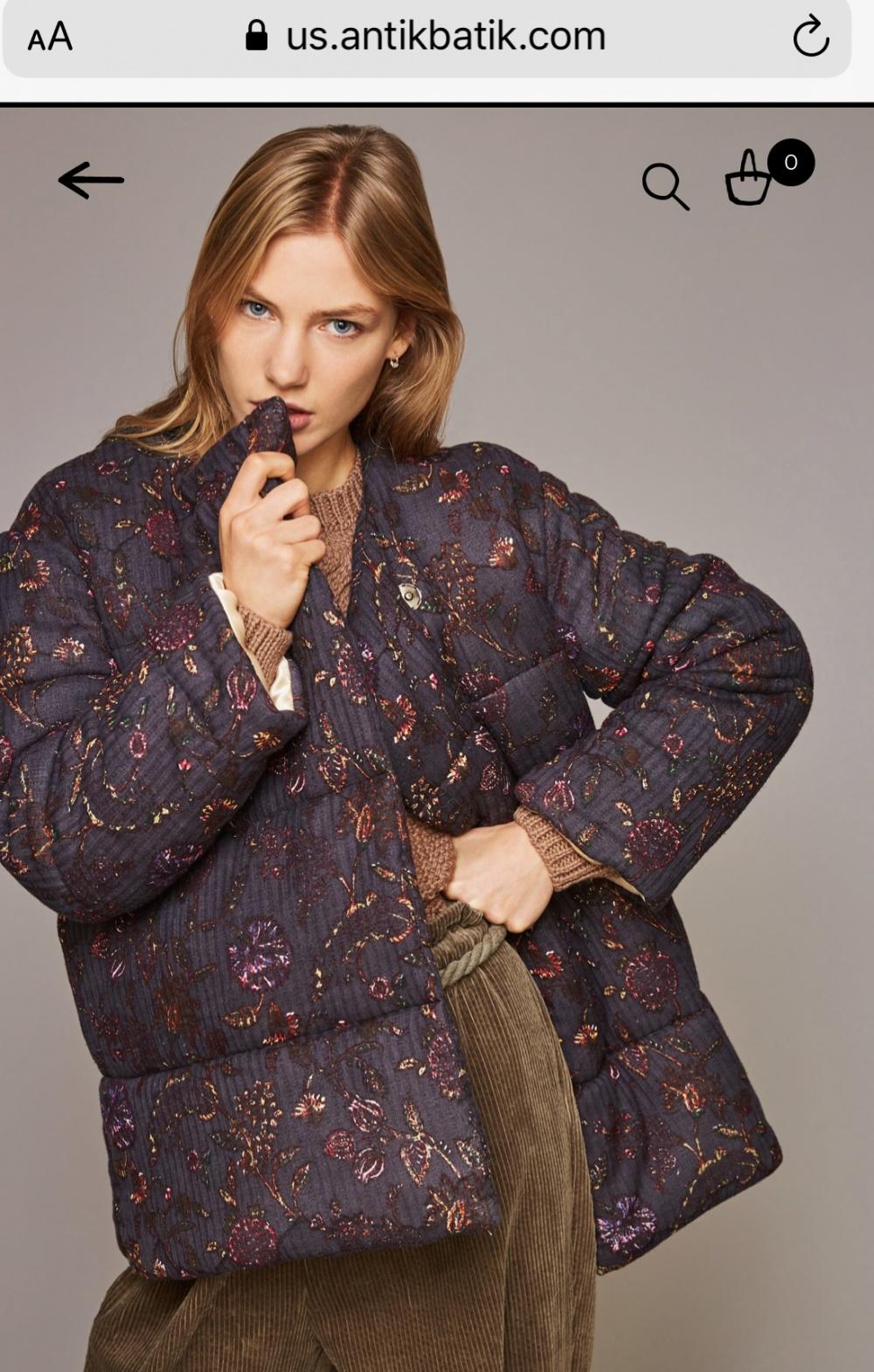 Пальто новое Antik Batik, 40fr, (M-L)