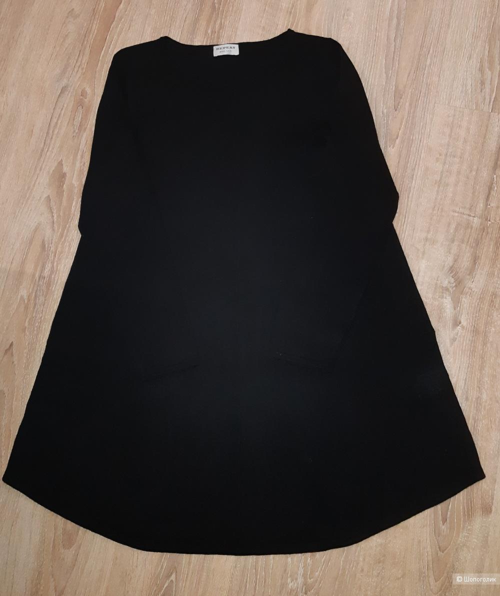 Новое шерстяное платье repeat, размер 46/48