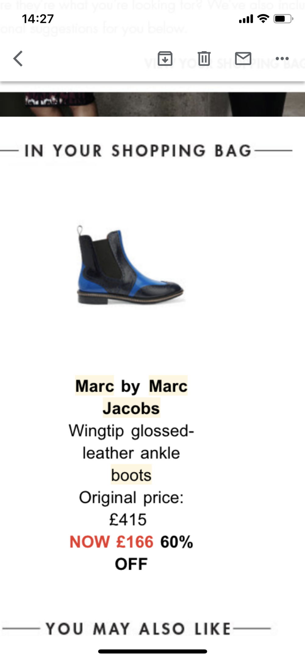 Ботинки челси Marc by Marc Jacobs, 37