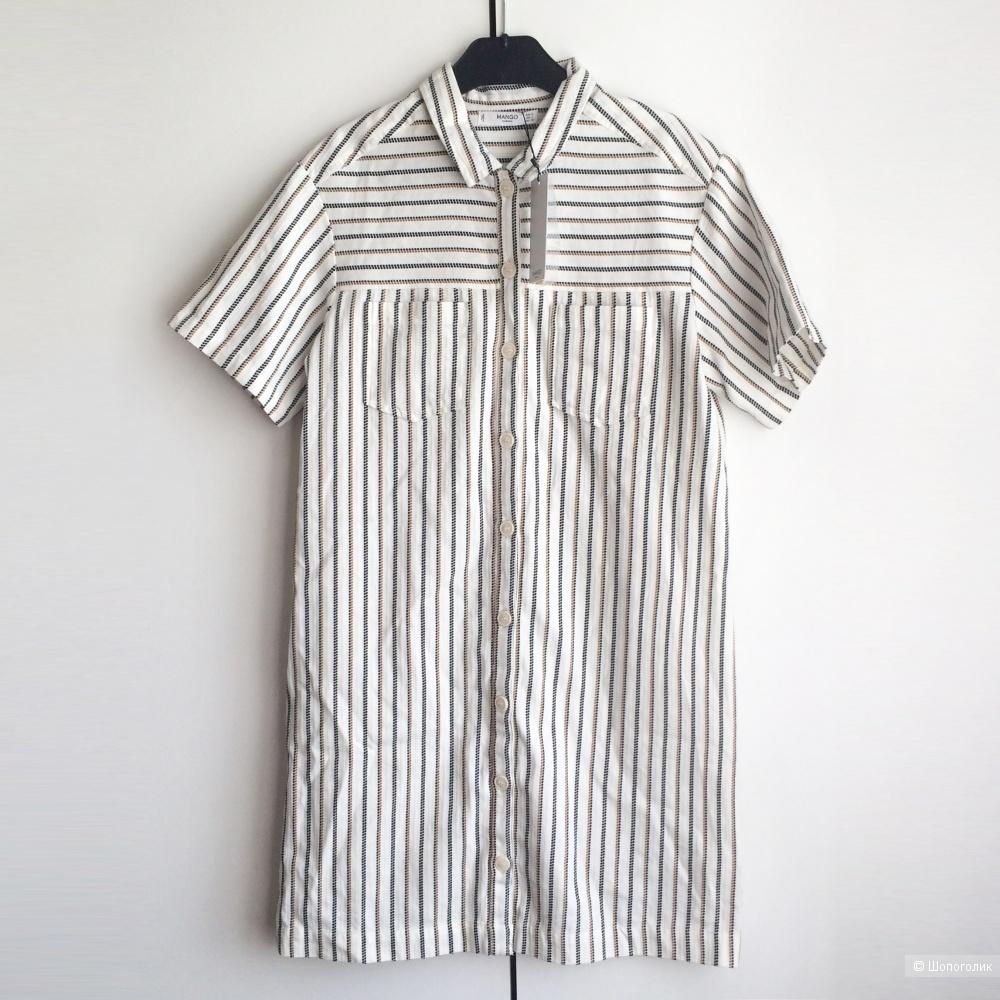 Платье-рубашка Mango размер S