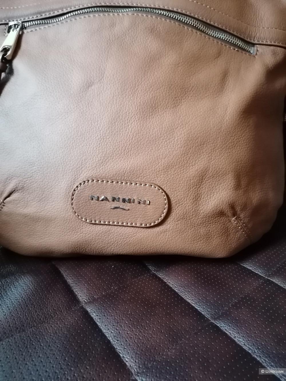 Кожаная сумка Nannini