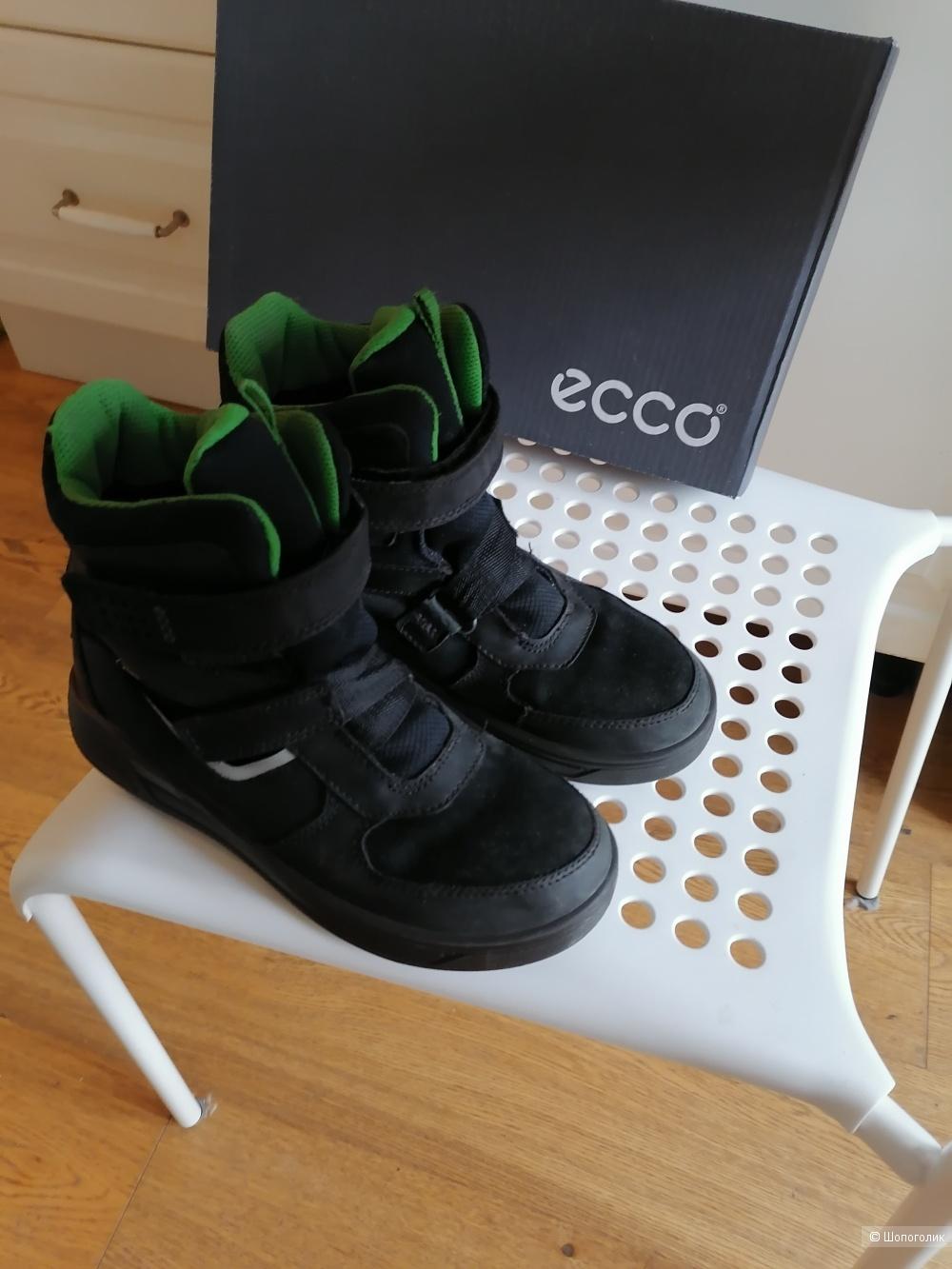 Зимние ботинки ecco экко 35 размер