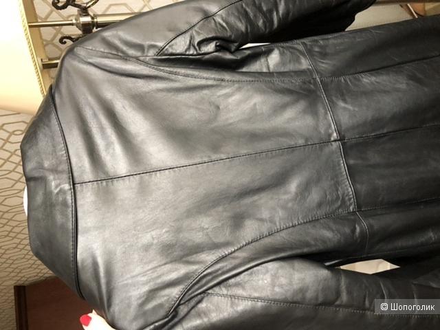 Кожаное пальто emanuele curci 40it