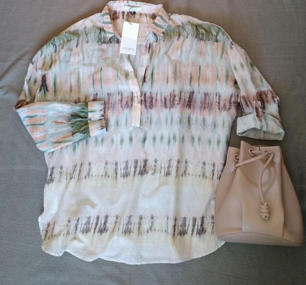 Блузка-рубашка MANGO размер L-XL (52-56)