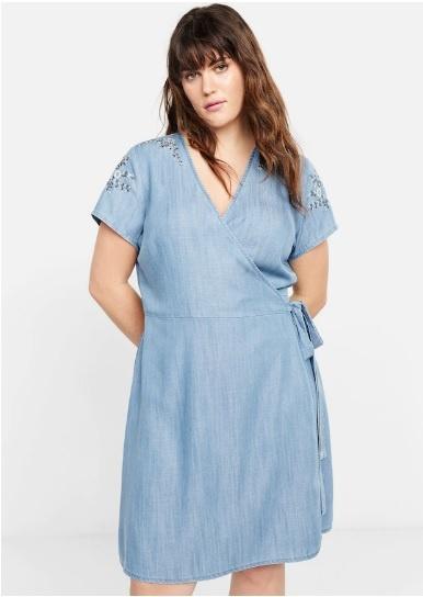 Джинсовое платье MANGO размер XXL - XL (52-56)