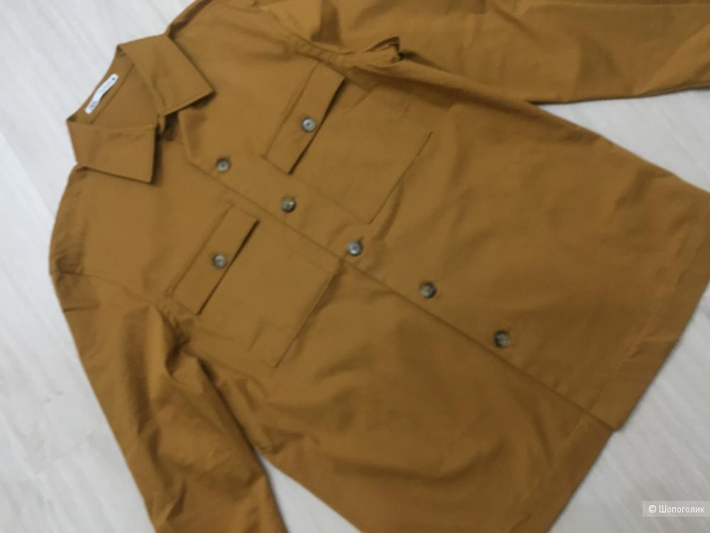 Zara куртка рубашечного кроя, размер m