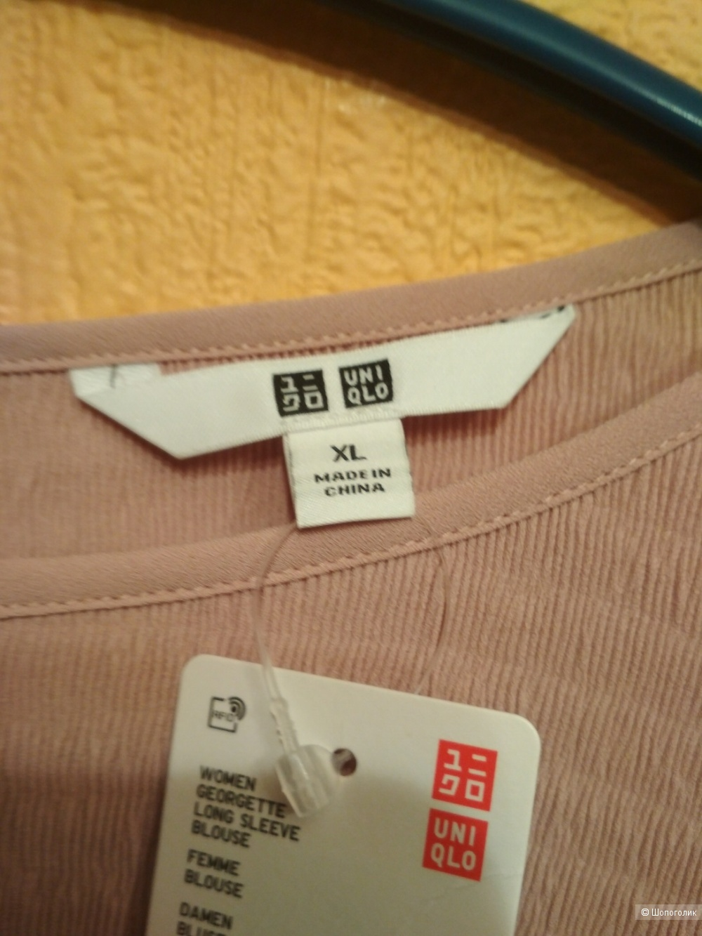 Блузка UNIQLO , XL на наш 52-54
