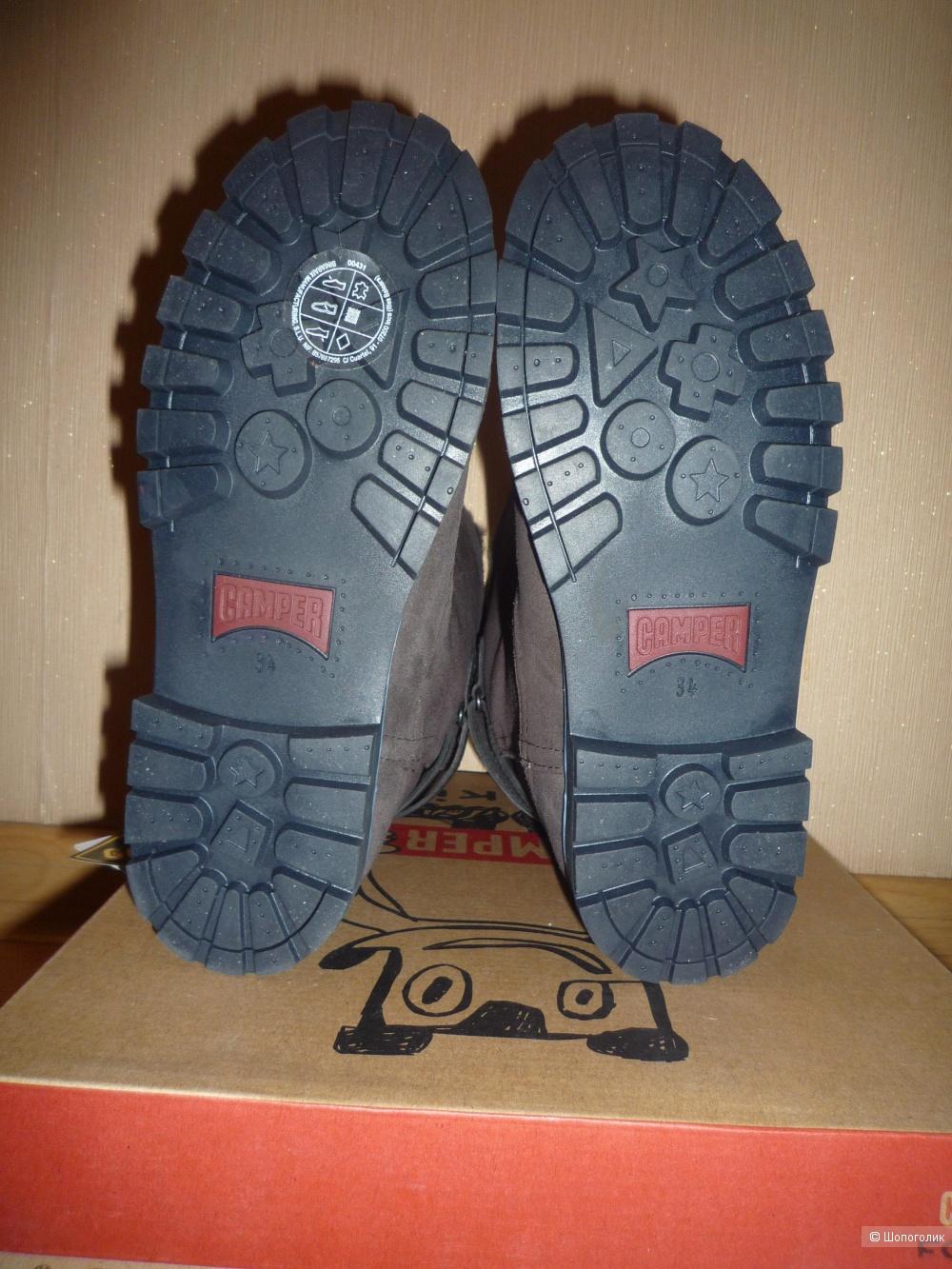 Зимние сапоги CAMPER 34 размер