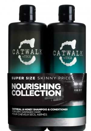 Набор для волос Tigi Catwalk Oatmeal and honey shampoo and conditioner 750 ml