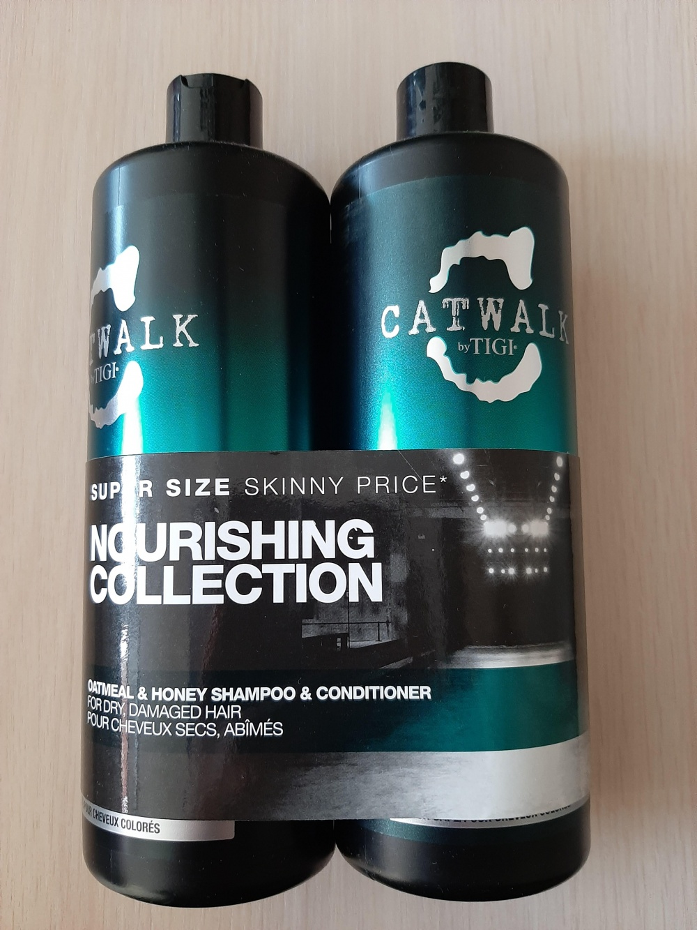 Набор для волос Tigi Catwalk Oatmeal and honey shampoo and conditioner 750 ml