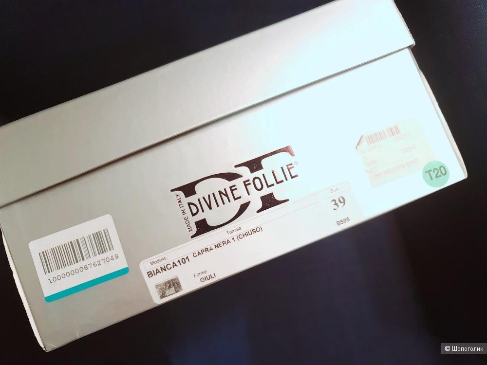 Лоферы DIVINE FOLLIE, размер 38, 39