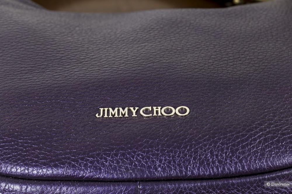 Сумка Jimmy Choo женская, - (Solar Metallic Bracelet - хобо), medium.