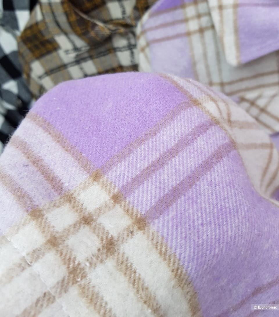 Рубашка жакет в клетку, MISS Style turkey, 42-48
