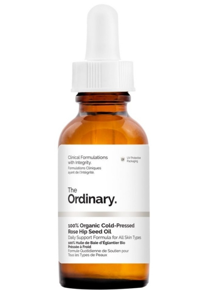 Косметическое масло для лица The ORDINARY Organic cold pressed rose hip sheed oil 30 ml
