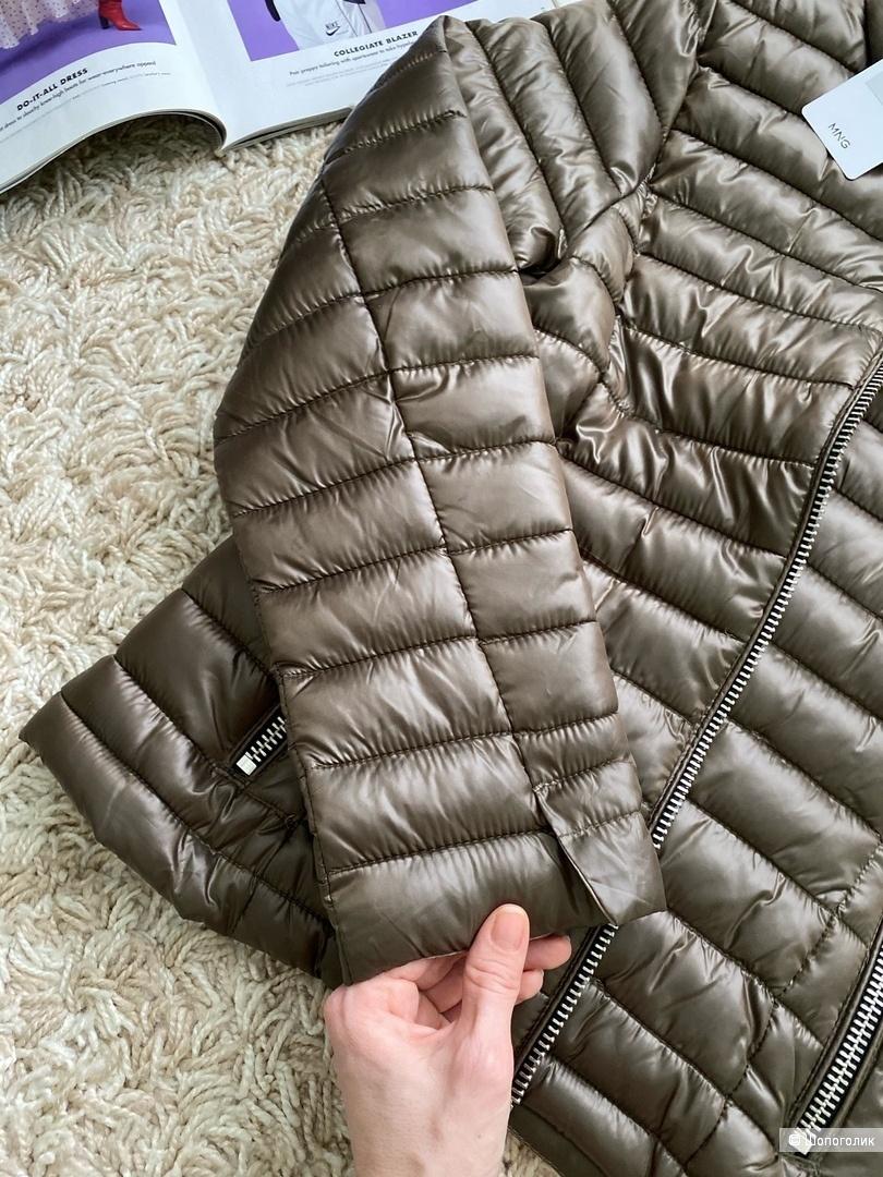 Стеганая куртка mango, размер L