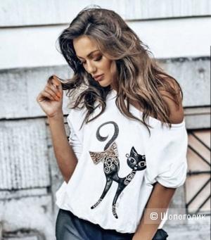 Свитшот блуза CAT LA MU, 42-52
